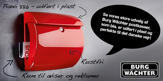 Topmoderne Køb postkasser og postkasseanlæg hos postkasseshoppen.dk IR-21